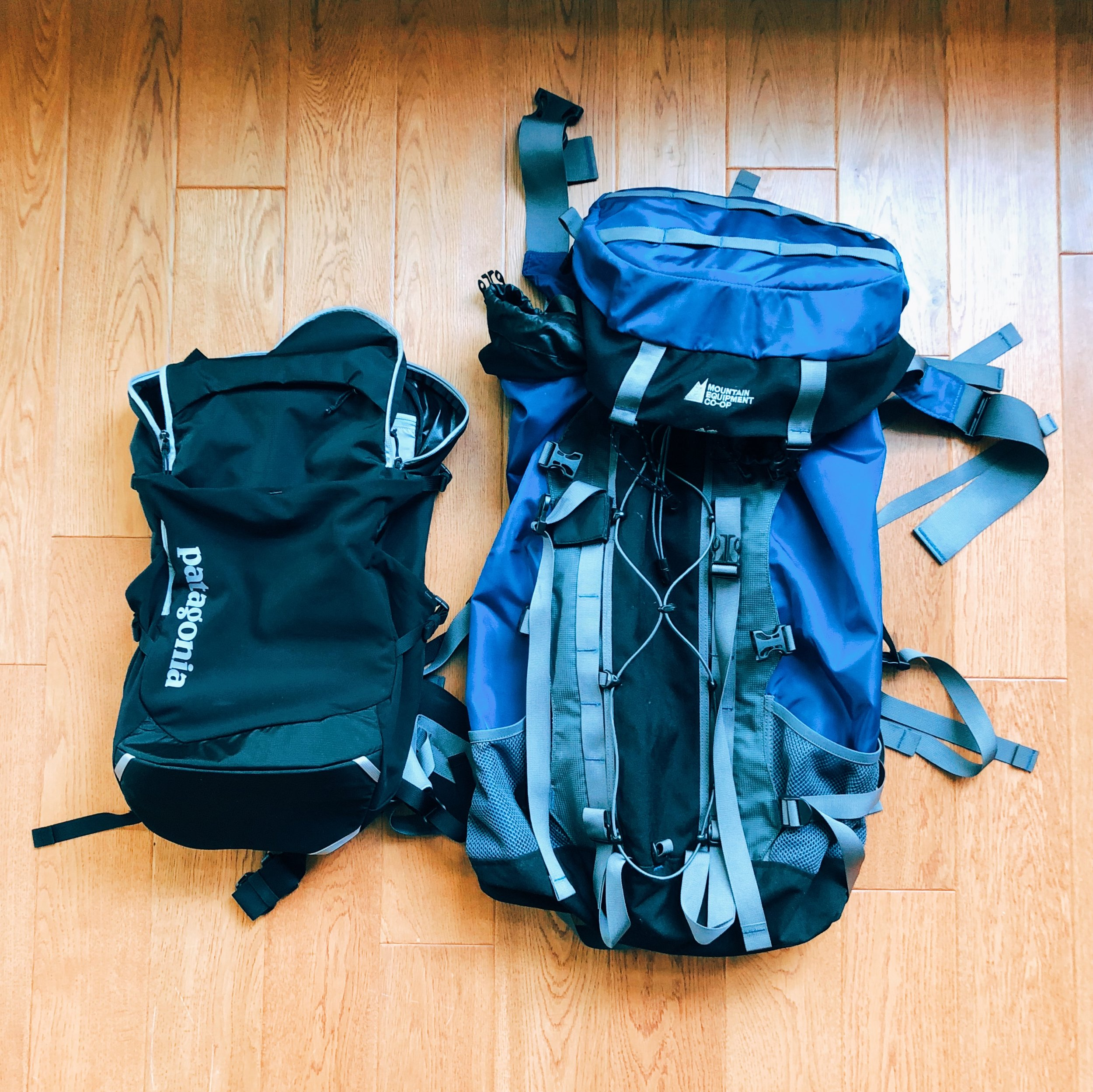Backpack options for Peru. Plus helpful space-saving packing tips. #packinglist #peru #packinglistforperu