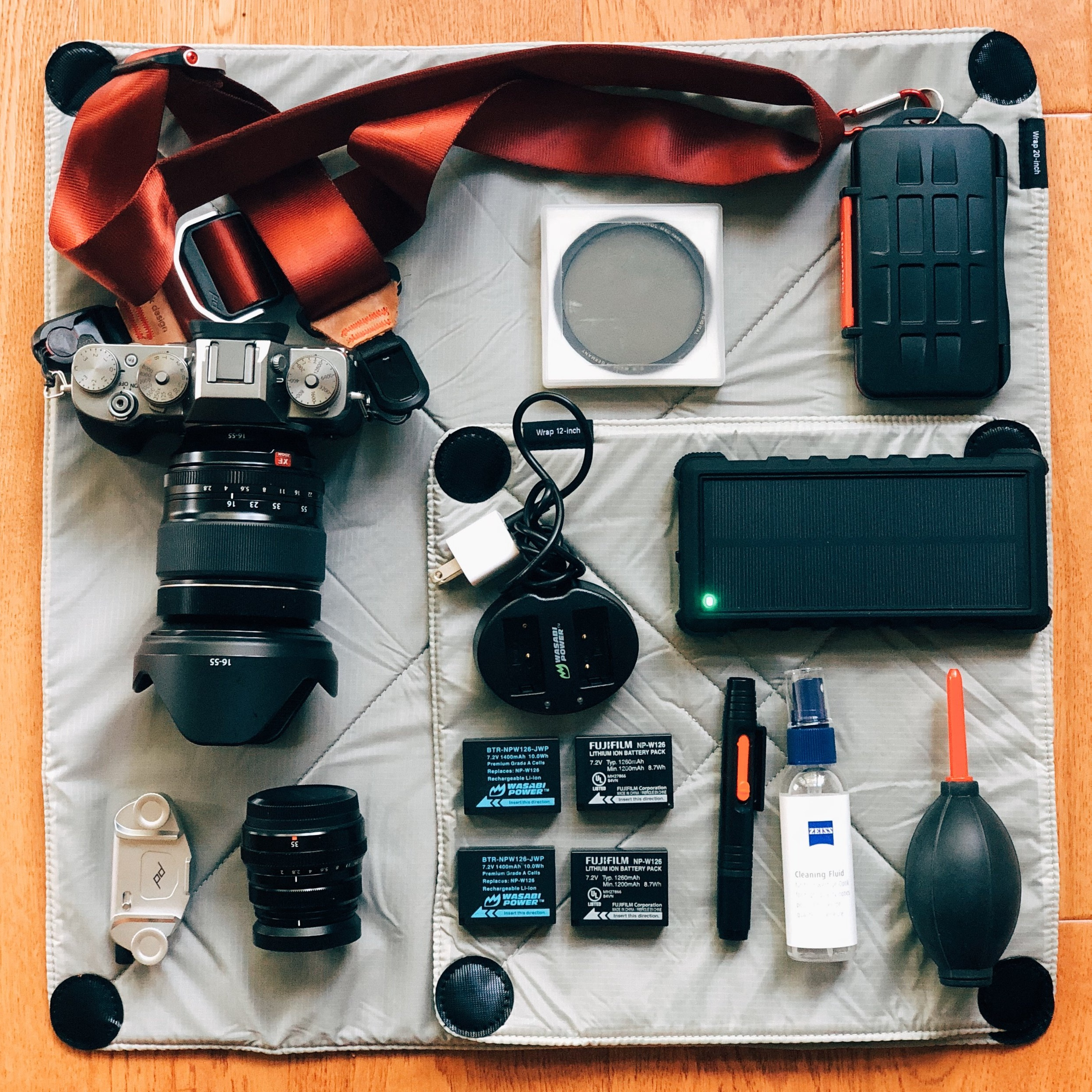 Camera gear for Peru. #packinglist #peru #packinglistforperu