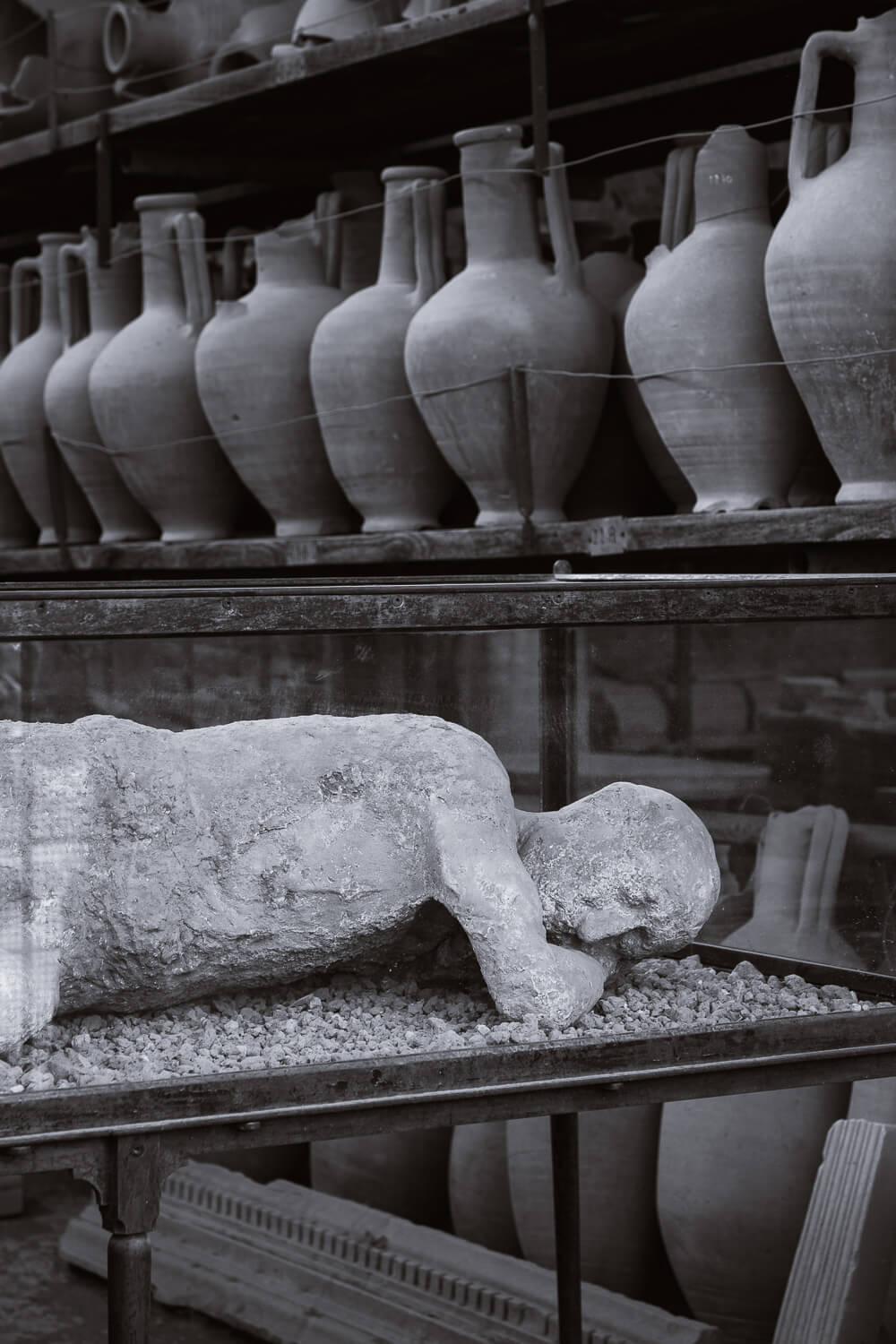 """Plaster casts of Pompeiians. Travel photography and guide by © Natasha Lequepeys for """"And Then I Met Yoko"""". #pompeii #italy #fujifilm #travelphotography"""