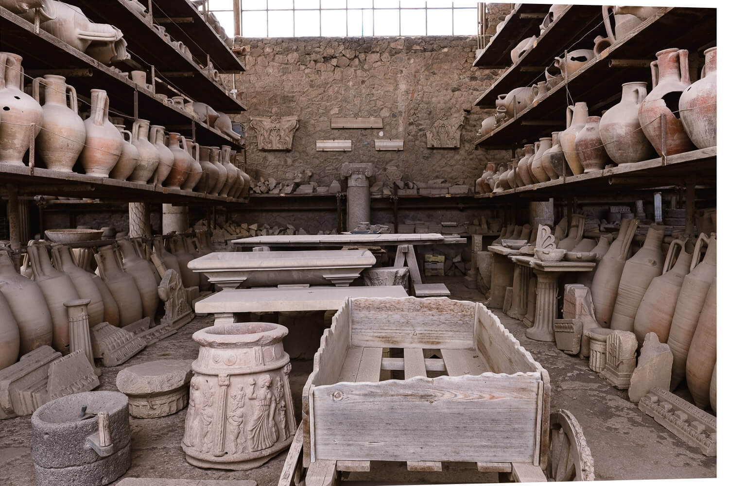 """Artifacts of Pompeii. Travel photography and guide by © Natasha Lequepeys for """"And Then I Met Yoko"""". #pompeii #italy #fujifilm #travelphotography"""