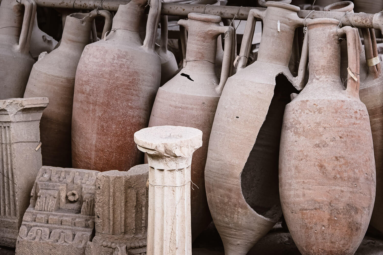 """Ancient artifacts of Pompeii. Travel photography and guide by © Natasha Lequepeys for """"And Then I Met Yoko"""". #pompeii #italy #fujifilm #travelphotography"""