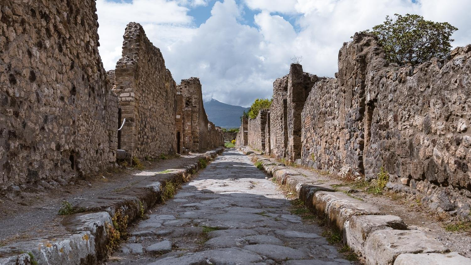 """Ancient roads of Pompeii. Travel photography and guide by © Natasha Lequepeys for """"And Then I Met Yoko"""". #pompeii #italy #fujifilm #travelphotography"""