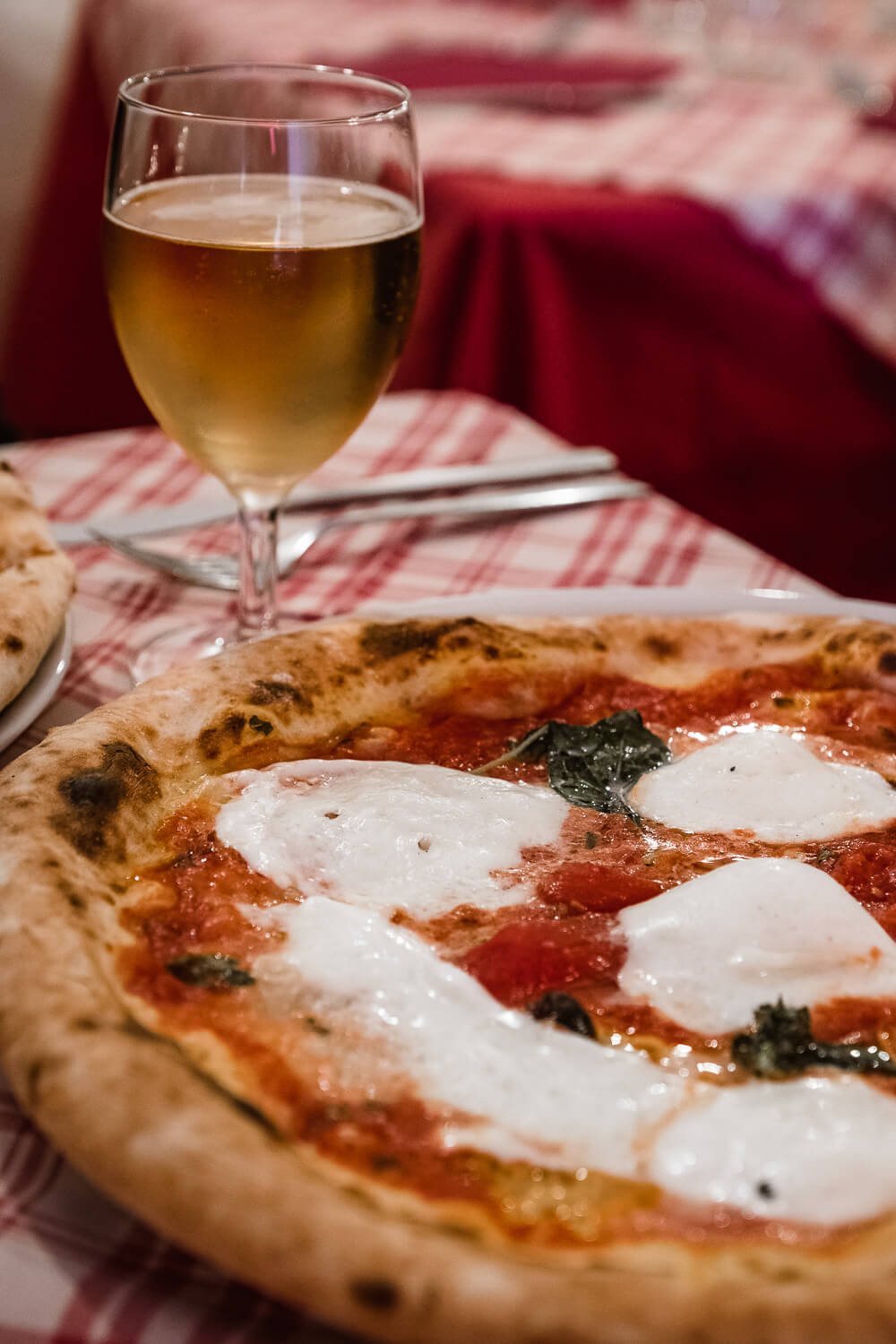 """Pizza margarita in Naples. Travel photography and guide by © Natasha Lequepeys for """"And Then I Met Yoko"""". #pompeii #italy #fujifilm #travelphotography"""