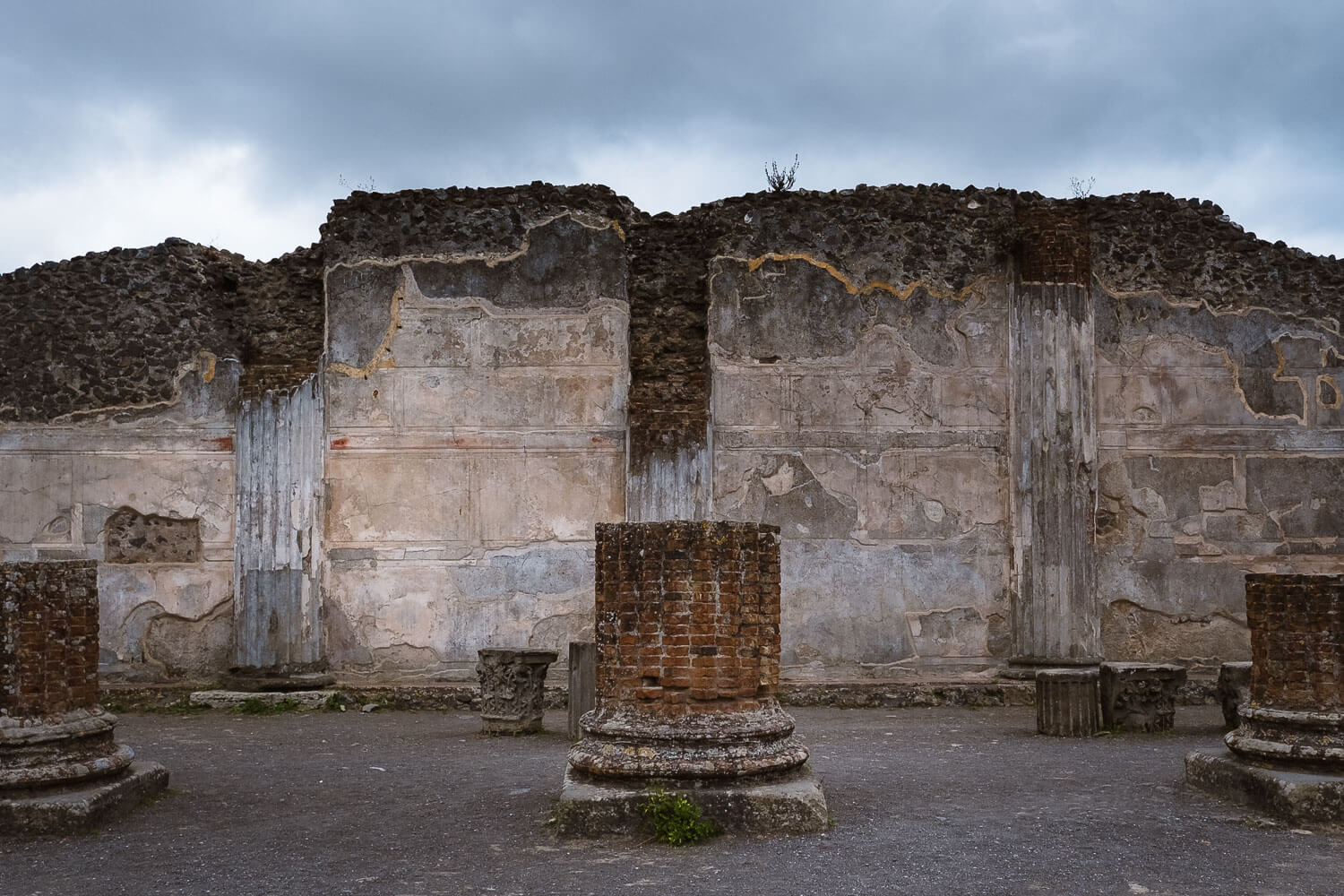 """The forum of Pompeii. Travel photography and guide by © Natasha Lequepeys for """"And Then I Met Yoko"""". #pompeii #italy #fujifilm #travelphotography"""