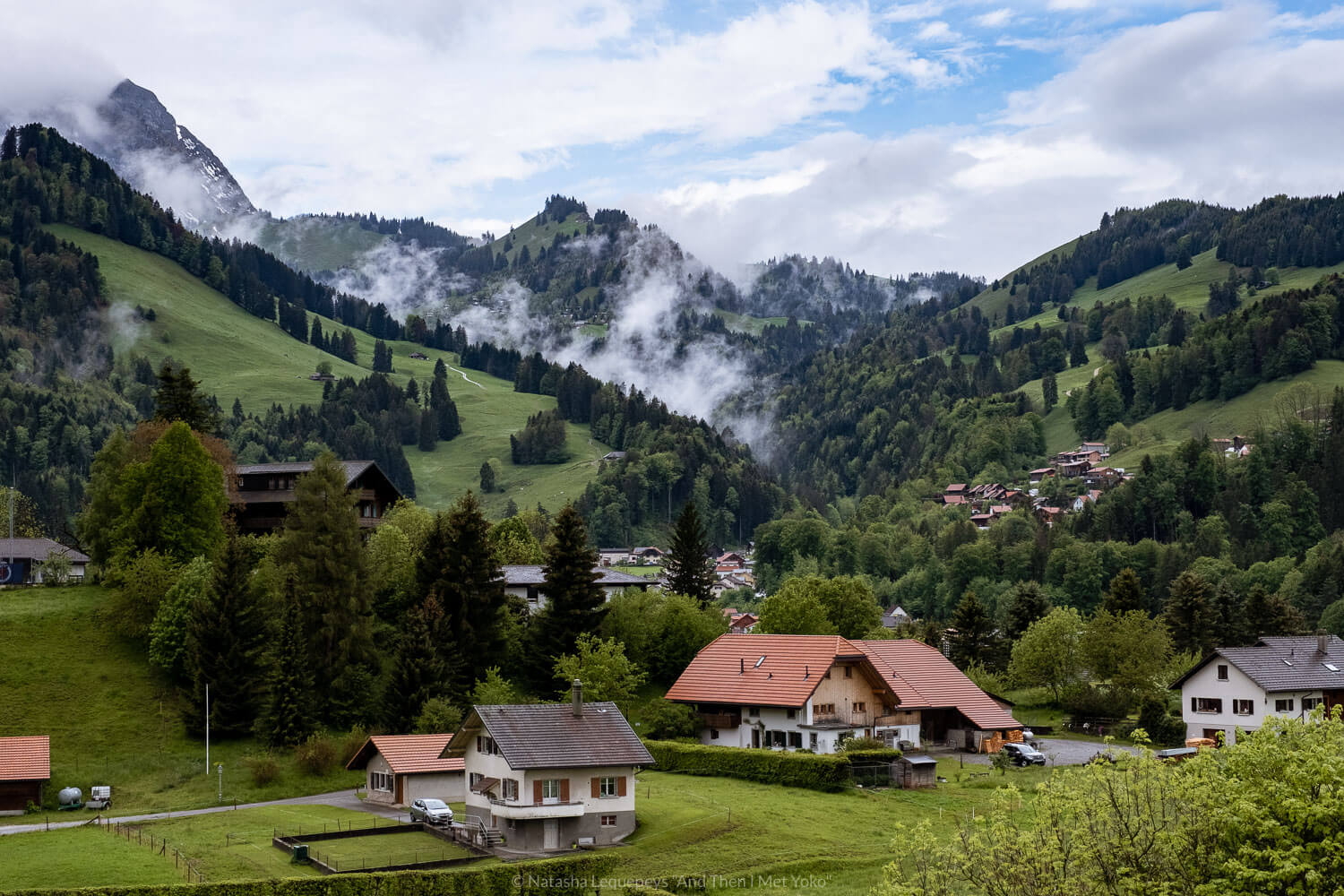 "A photographic travel guide and itinerary to Gruyeres, Switzerland. Travel photography and guide by © Natasha Lequepeys for ""And Then I Met Yoko"". #gruyeres #switzerland #travelguide #travelphotography"