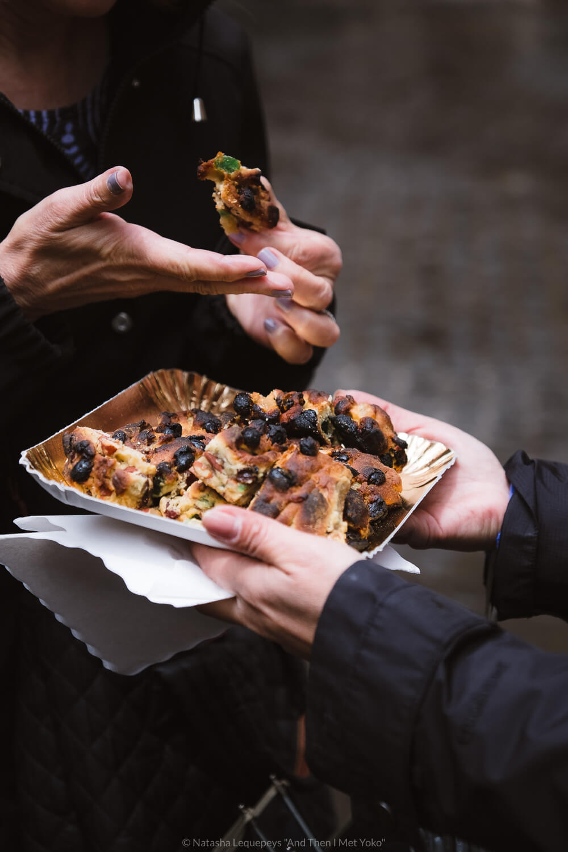 "Pizza Ebraica in the Jewish Ghetto, Rome. Travel photography and guide by © Natasha Lequepeys for ""And Then I Met Yoko"". #rome #jewishghettorome #italy #fujifilm #travelphotography"