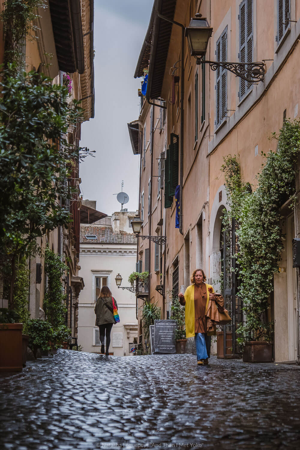"""The streets of the Jewish Ghetto, Rome. Travel photography and guide by © Natasha Lequepeys for """"And Then I Met Yoko"""". #rome #jewishghettorome #italy #fujifilm #travelphotography"""
