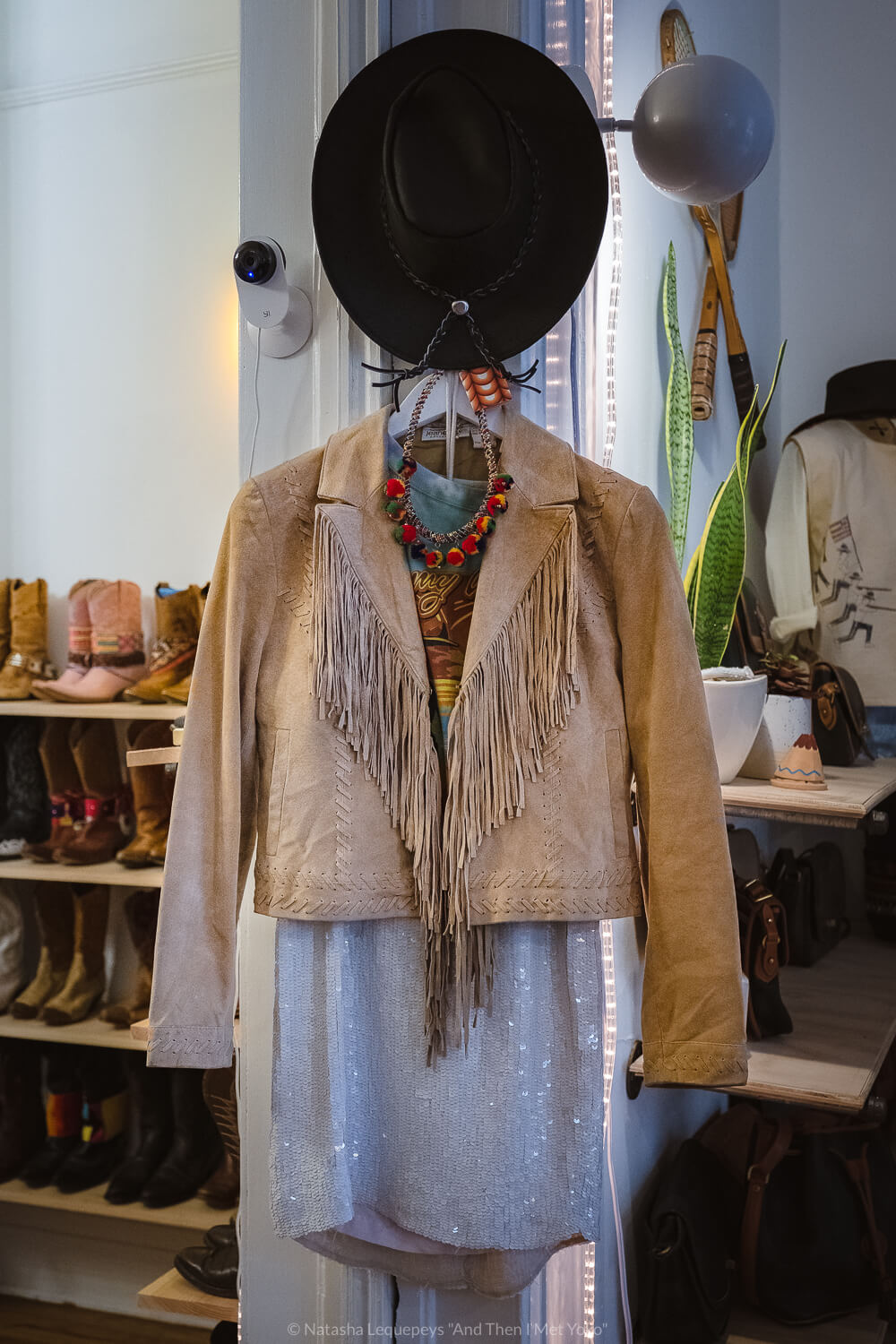"East and Up, Vintage Clothing in Savannah, GA. Travel photography and guide by © Natasha Lequepeys for ""And Then I Met Yoko"". #savannah #usa #travelguide #shoppingguide"