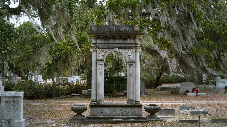 "Bonaventure Cemetery in Savannah, Georgia. Travel photography and guide by © Natasha Lequepeys for ""And Then I Met Yoko"". #savannah #usa #travelguide #travelblog"