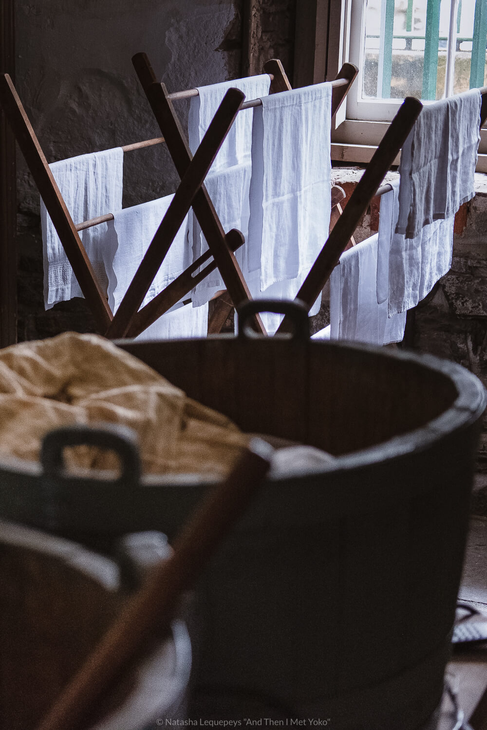 """Basement laundry inside the Thomas-Owens house. Travel photography and guide by © Natasha Lequepeys for """"And Then I Met Yoko"""". #savannah #usa #travelphotography #travelguide #travelblog"""