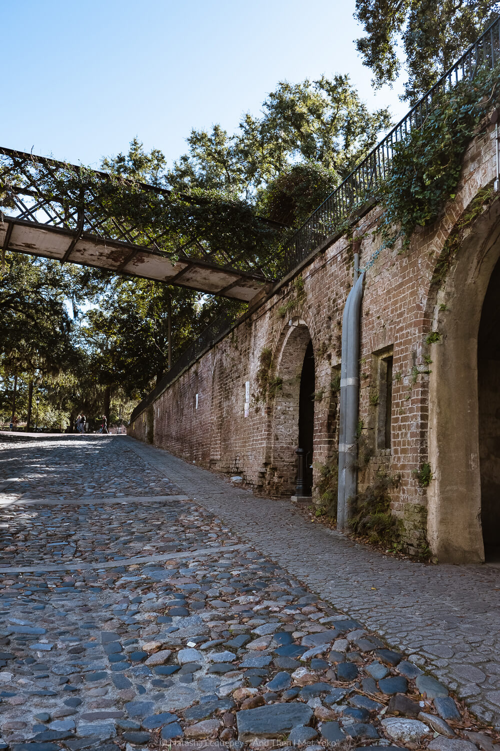 """Slave holding rooms near River Street in Savannah, Georgia. Travel photography and guide by © Natasha Lequepeys for """"And Then I Met Yoko"""". #savannah #usa #travelguide #travelblog"""