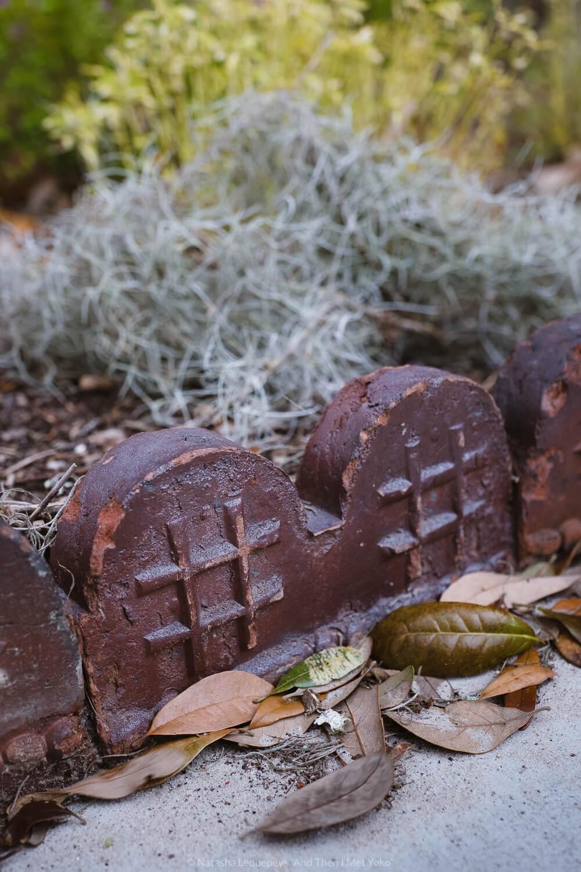 "Old bricks at Bonaventure Cemetery in Savannah, Georgia. Travel photography and guide by © Natasha Lequepeys for ""And Then I Met Yoko"". #bonaventurecemetery #savannah #travelguide #travelblog #travelphotography #fujifilm"