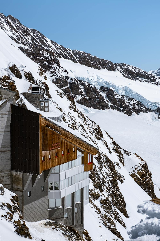 "Views from Jungfraujoch, Switzerland. Travel photography and guide by © Natasha Lequepeys for ""And Then I Met Yoko"". #wengen #switzerland #jungfrau #travelphotography #fujifilm"