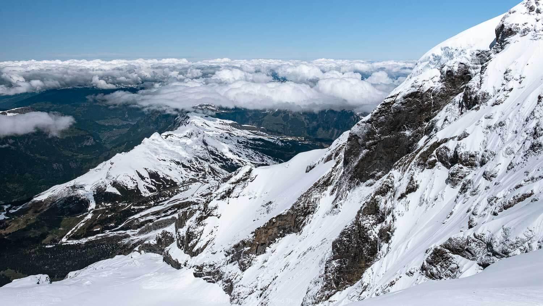 "Views from Jungfraujoch, Switzerland. Travel photography and guide by © Natasha Lequepeys for ""And Then I Met Yoko"". #wengen #switzerland #jungfrau #travelphotography"