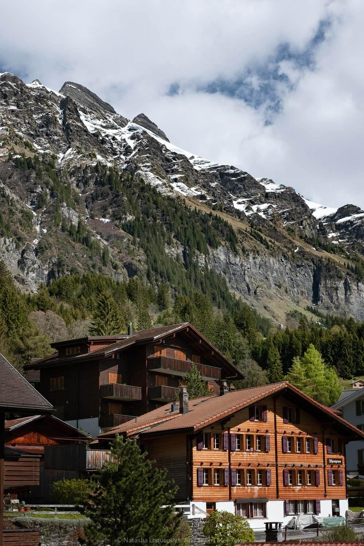 "The village of Wengen, Switzerland. Travel photography and guide by © Natasha Lequepeys for ""And Then I Met Yoko"". #wengen #switzerland #jungfrau #travelphotography #fujifilm"