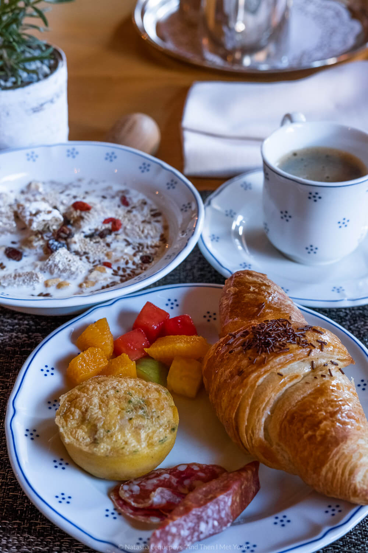Breakfast at Hotel Schönegg
