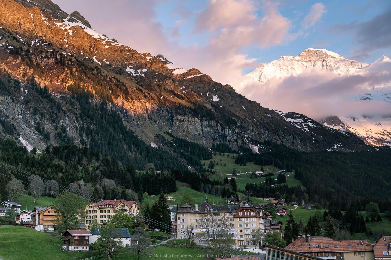 Views from Hotel Schönegg