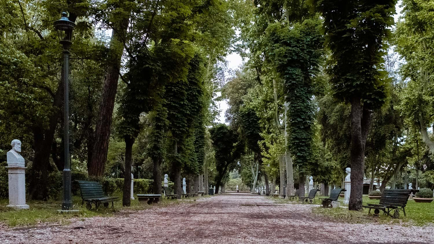 """The Borghese Park in Rome, Italy. Travel photography and guide by © Natasha Lequepeys for """"And Then I Met Yoko"""". #rome #italy #travelblog #travelphotography"""