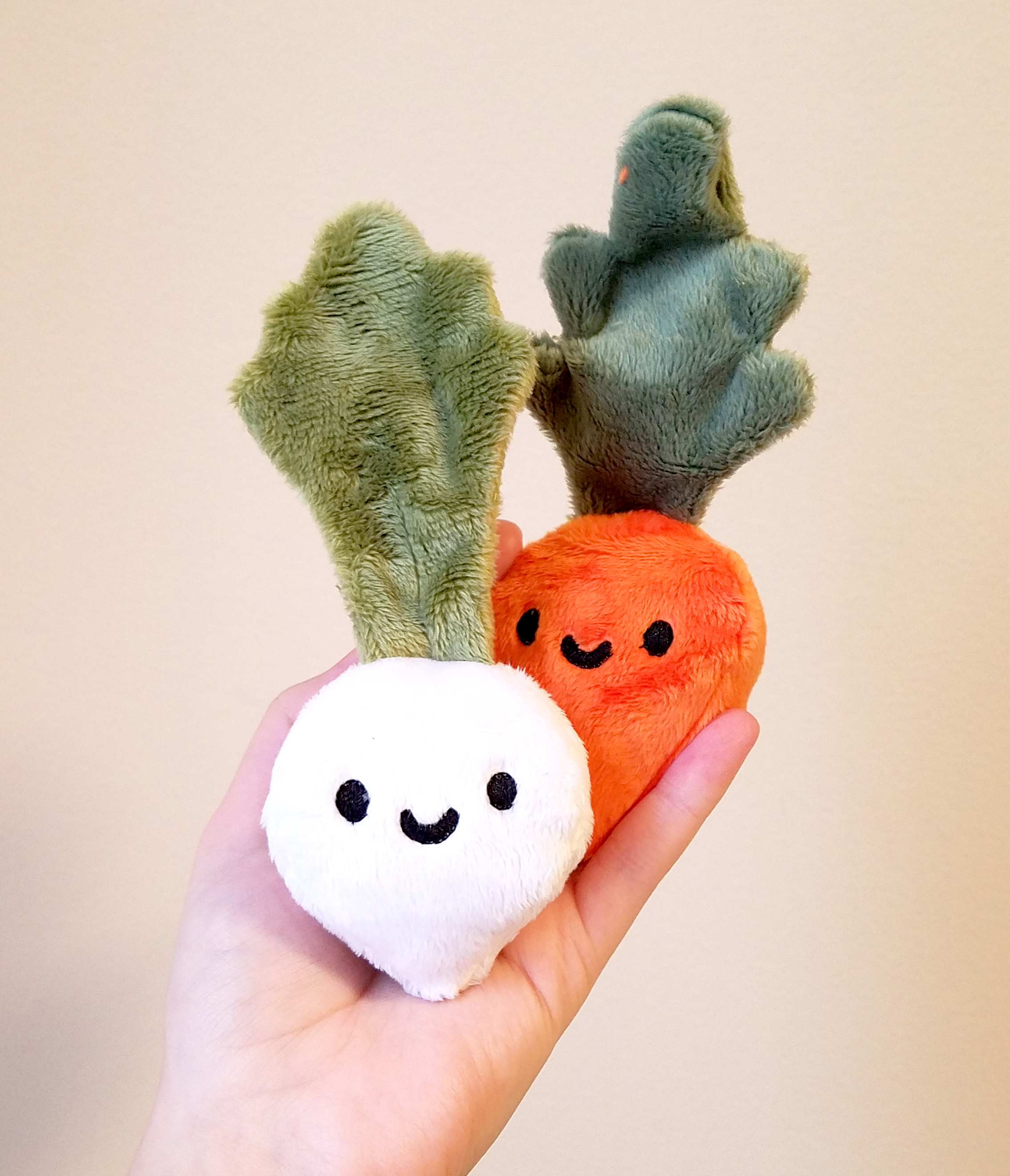 Original Cactus & Turnip Plush Designs
