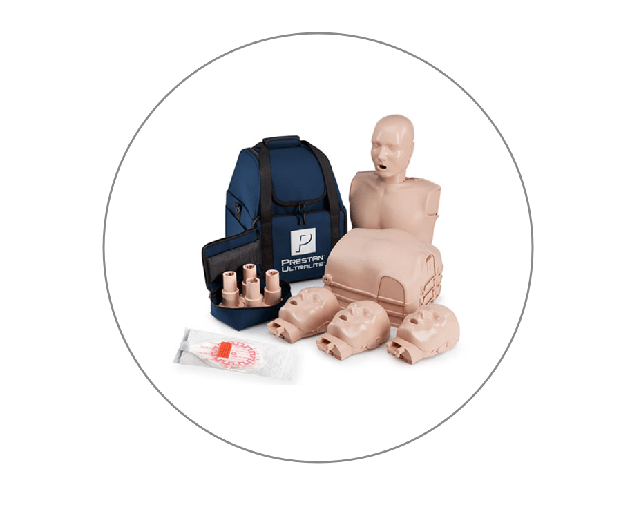 Learning is facilitated using the newest and most advanced first aid and lifeguarding equipment to give students an engaging and in-depth experience and prepare them for real world emergencies.