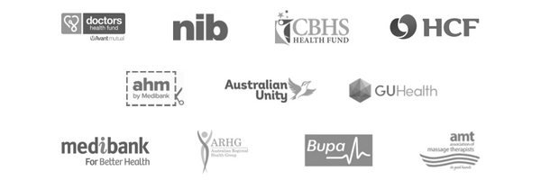 HEALTH FUNDS ACCEPTED AND AUSTRALIAN MASSAGE THERAPISTS ASSOCIATION