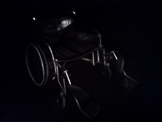 Wheelchair #32 , Haris Ahmad