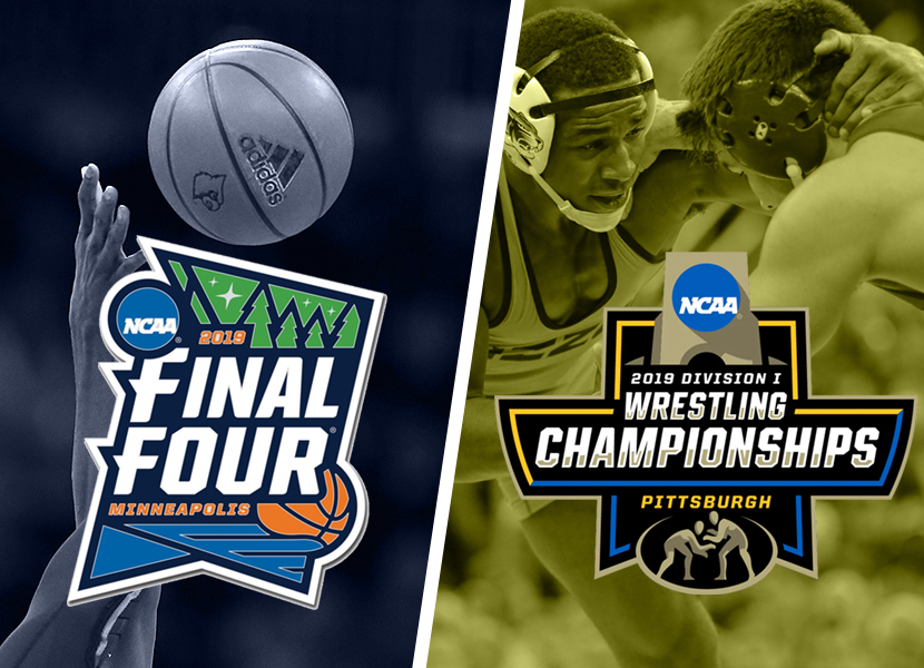 A tale of 2 NCAA championships.  On this post: Basketball