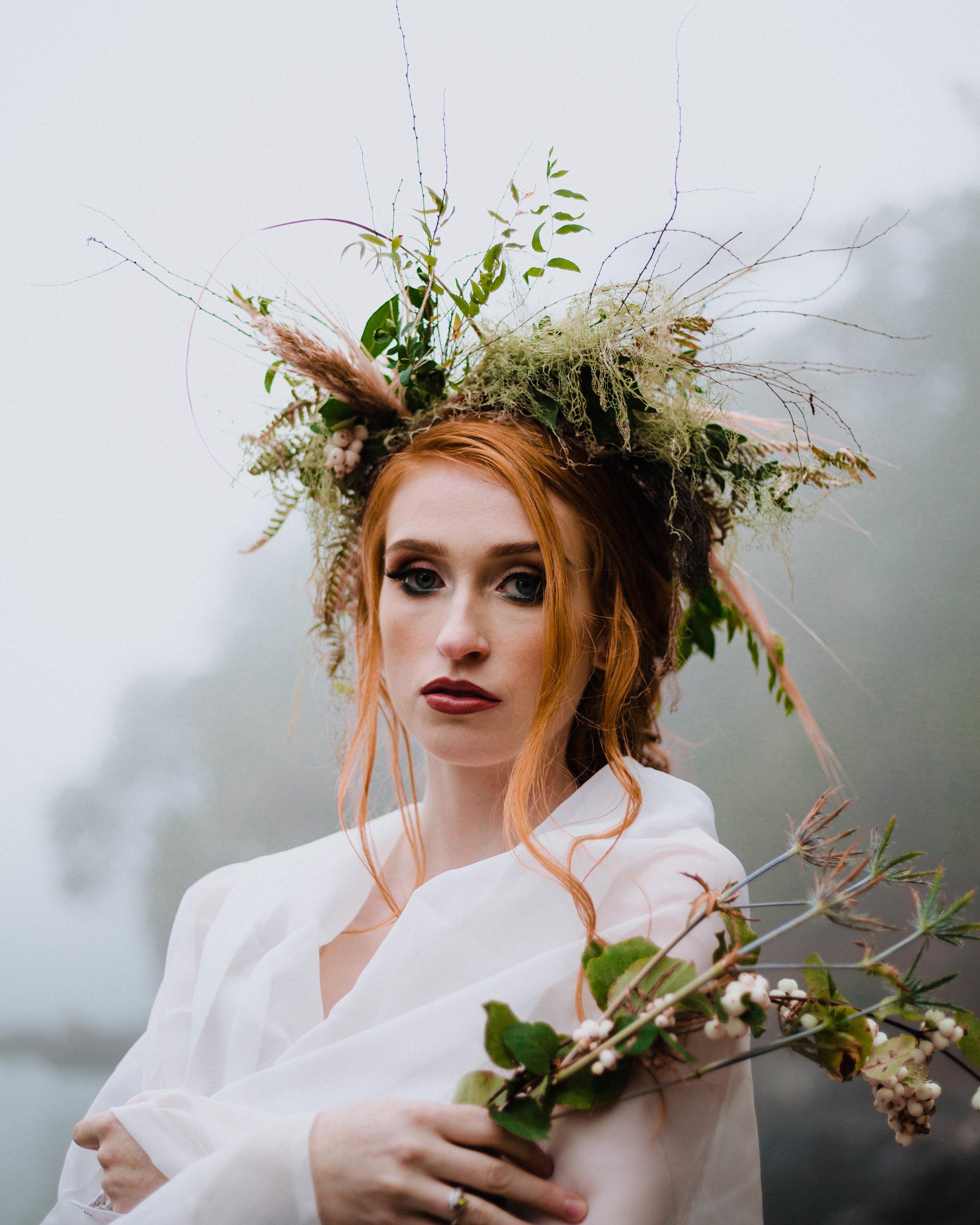 Celtic wedding-Alexandra Loughton Makeup