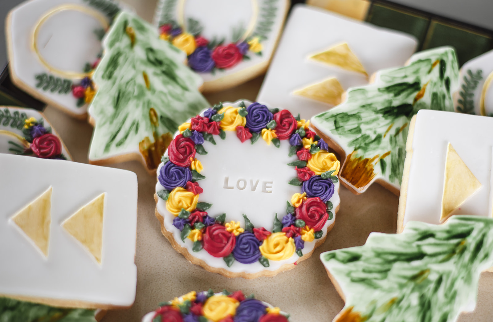 Cookies by  Marvellous Cakes