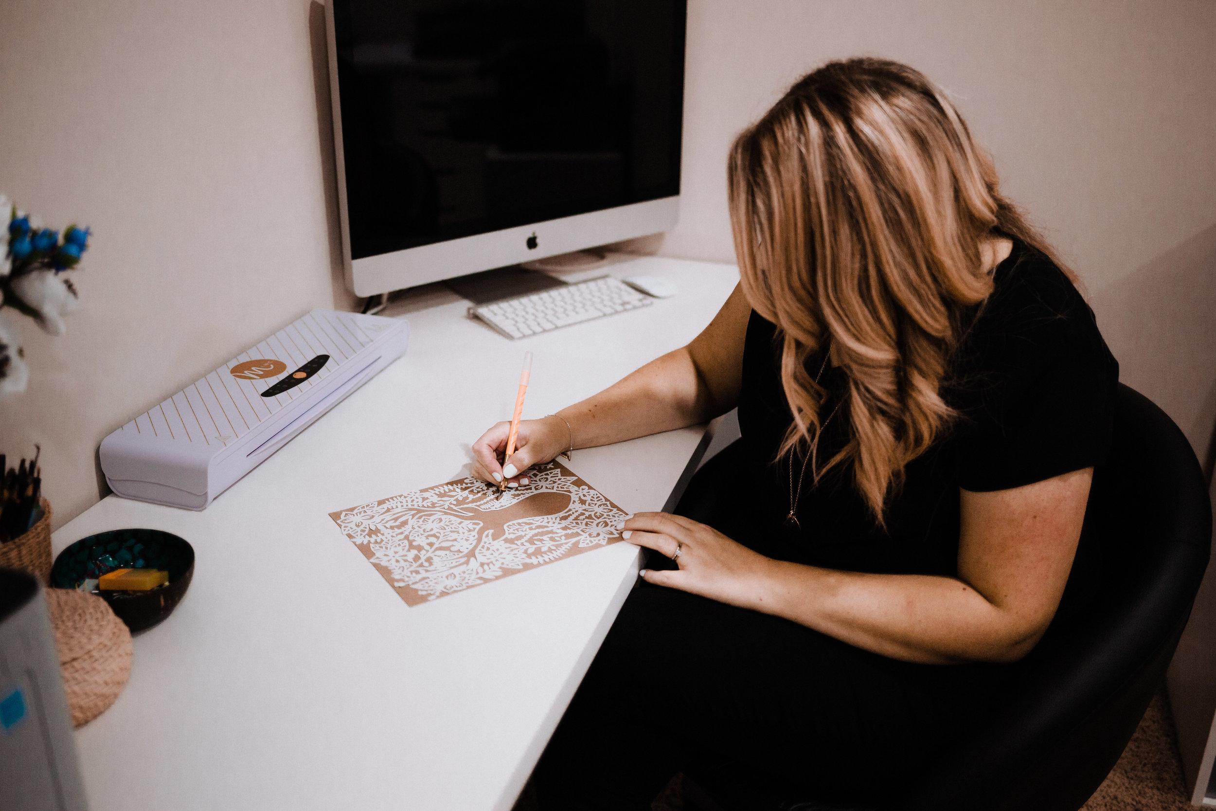 Ta Muchly Designs Hand cut paper designs