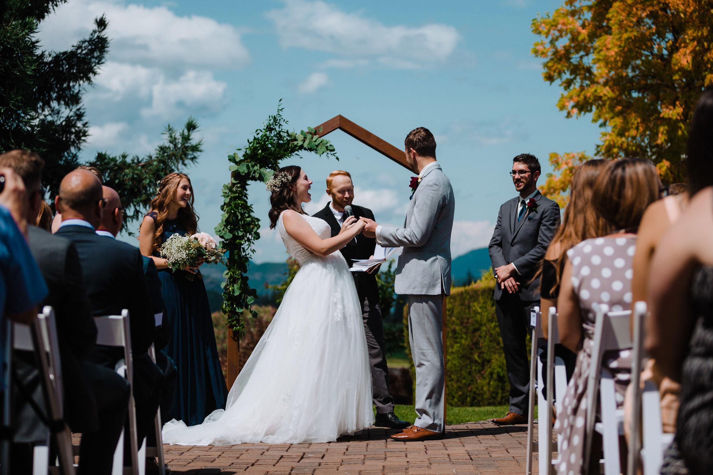 Abby and Braeden Elenko- wedding