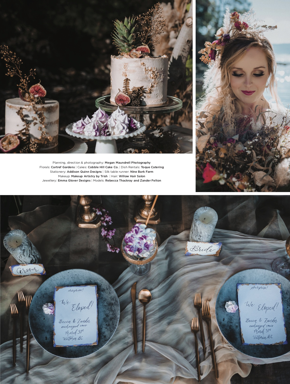 Published in Today's Bride Magazine
