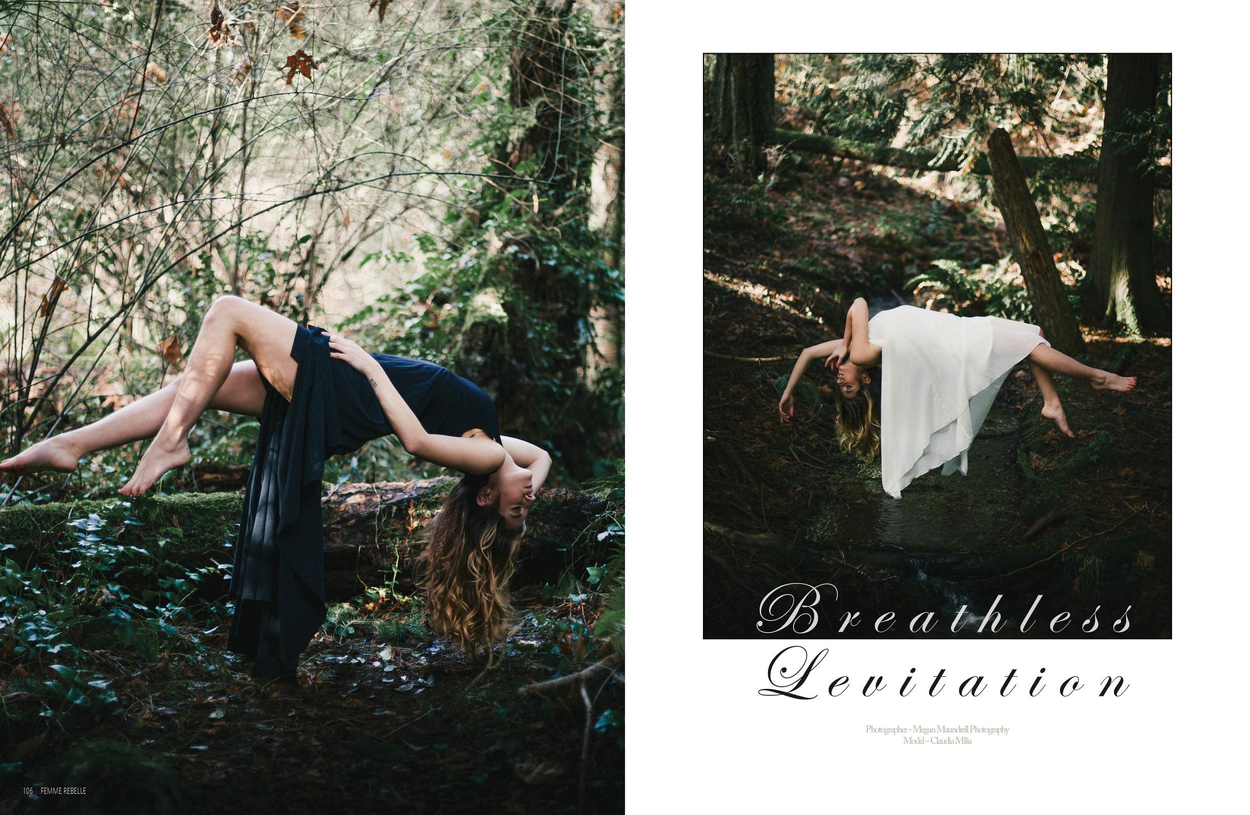 Published in Femme Rebelle Magazine - International