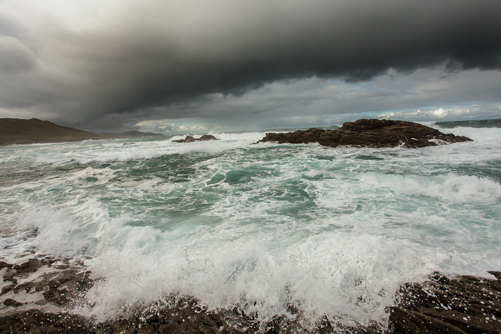 December 03, 2011 - Laxe (La Coruña). The Coast of Death is one of the most dangerous places for fishing in the world. © Thomas Cristofoletti 2011