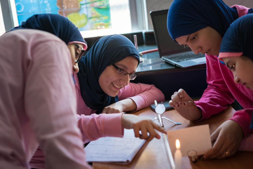Let Girls learn - STEM School Egypt