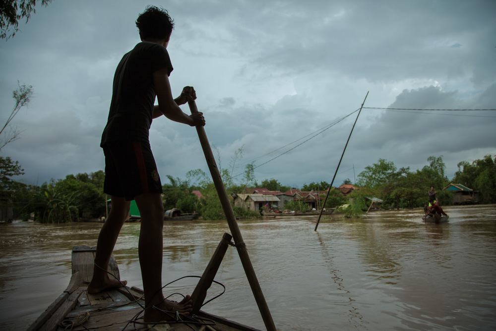 Floodings in Kampong Cham