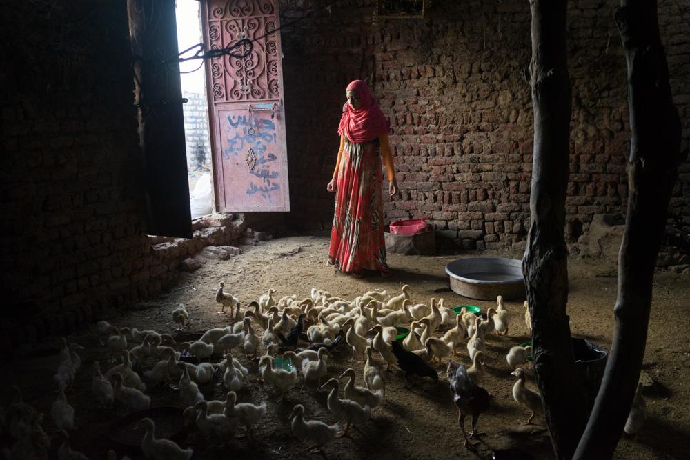 Doaa - the duck girl
