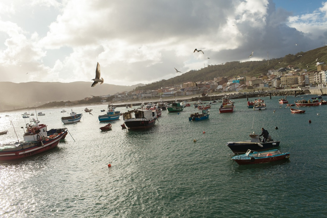 December 02, 2011 - Laxe (La Coruña). The small port of Laxe bases its economy on percebes' harvesting and other fishing-related activities. © Thomas Cristofoletti / Ruom