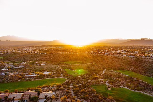 Breathtaking all year round. #sunridgecanyon #desertgolf #fountainhills