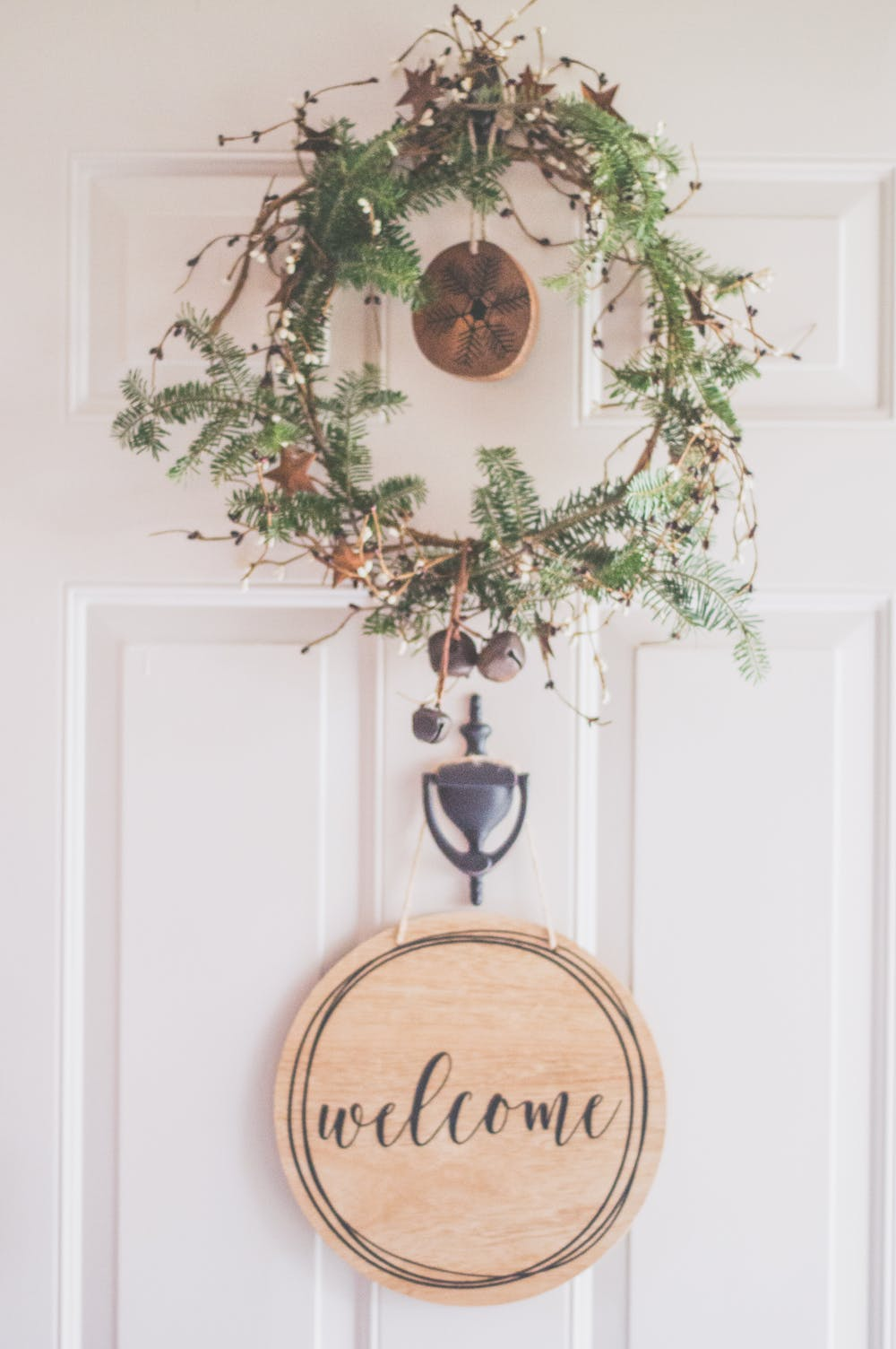 Decorate Your Door - Wreaths don't have to be just for Christmas! Adding a colorful, flower-filled wreath on your front door will add a pop of color to your home and make it appear more welcoming and seasonal.