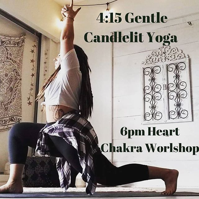 So jazzed up about tonight 🌌💖 See you on the mat 🧘🧘‍♂️📿 P.s don't forget your notebook and your mala for tonight's workshop! ❤️🙏