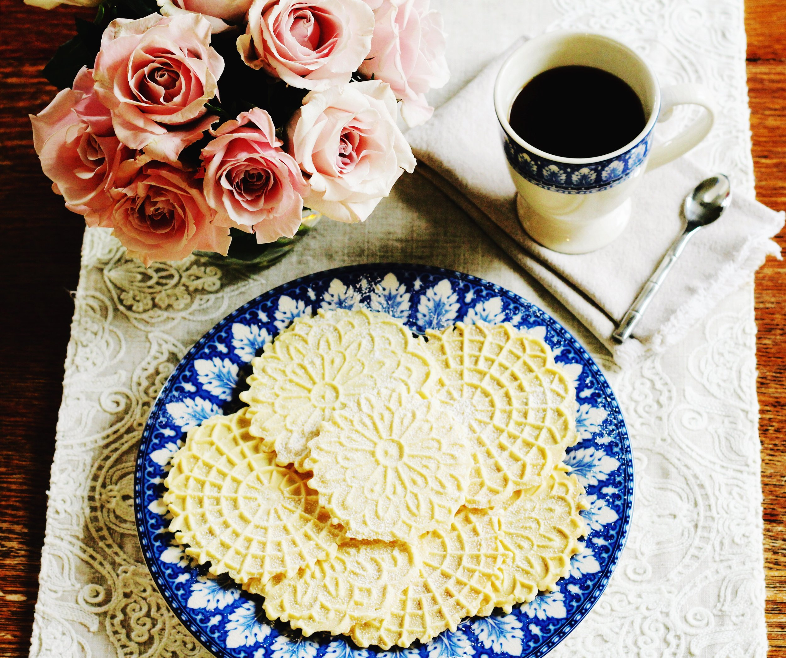 Pizzelle Cookie Recipe by Jennifer Lutz at Home