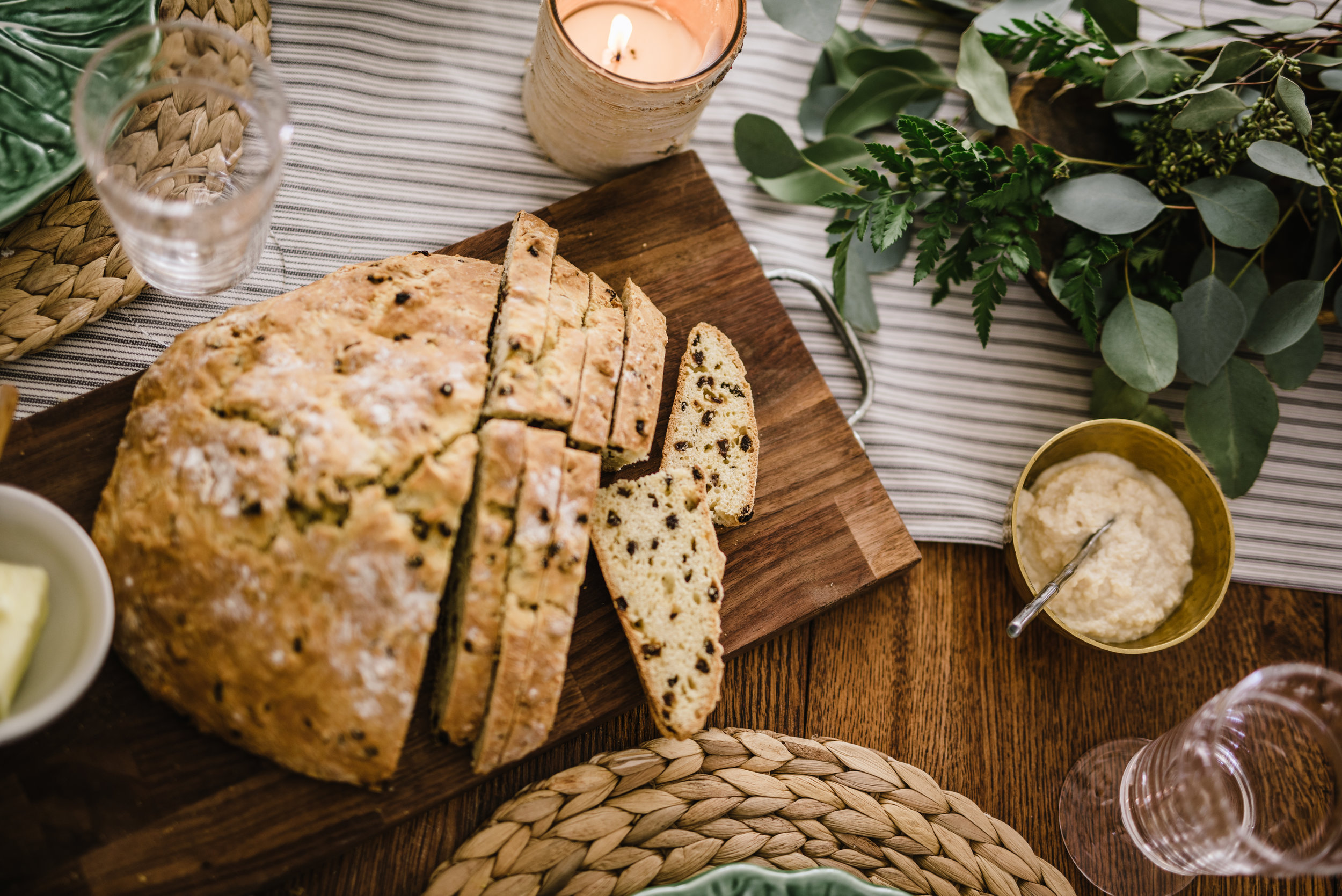 Irish Soda bread, recipe via Ina Garten , Photo by Rachel Cuthbert Photography
