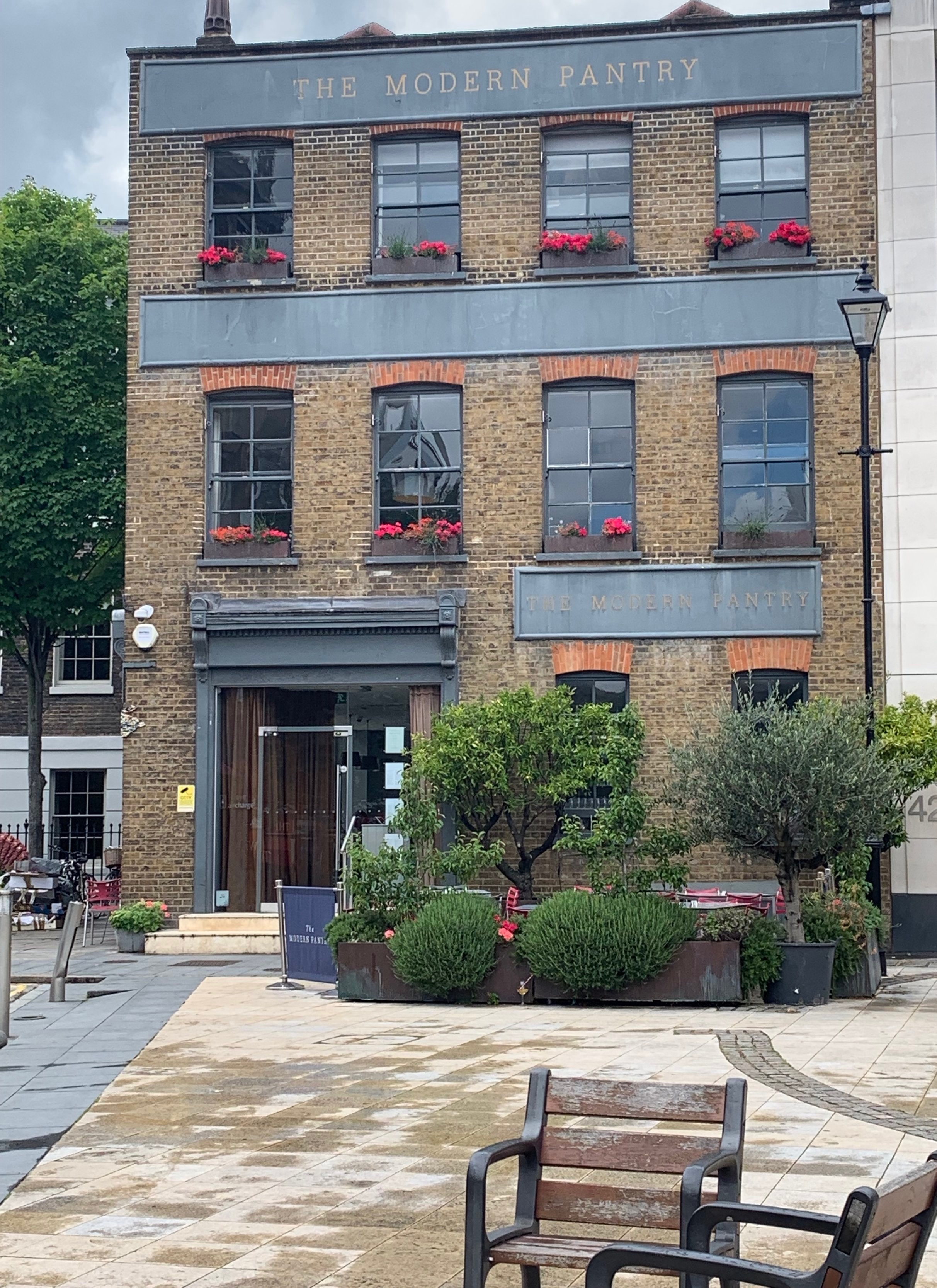 In the same block as DeVol, we had a lovely afternoon tea/lunch here.  I love the architecture, branding and food!