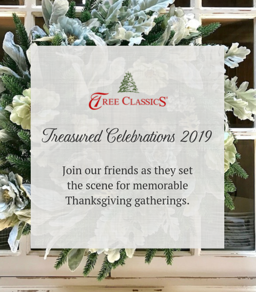 Thanks to  Tree Classics  for sponsoring Treasured Celebrations! ANd Follow along with Kristine at BoldBoundlessBlonde.com, Lori of MyLovelyTexasHome.com, and Kelly of CityGirlMeetsFarmBoy.com as they celebrate fall along with me!