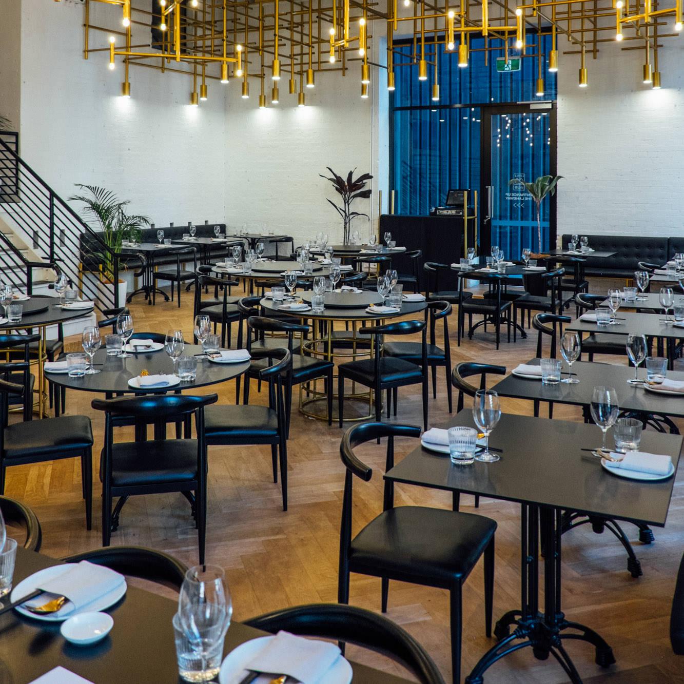 DINING HALL / 餐厅 - Vast. Sleek.