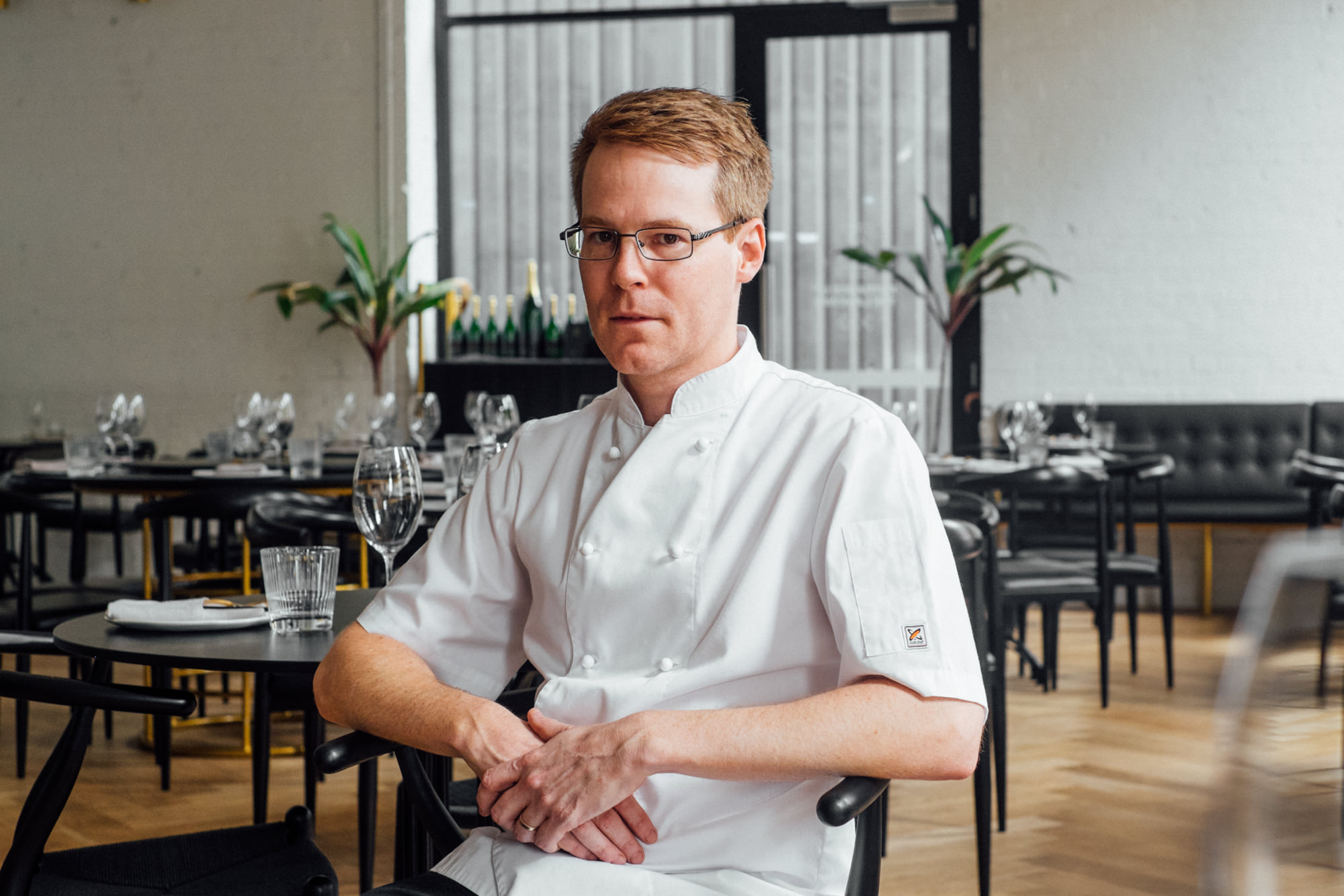 Pictured: Chef Simon Hanmer.