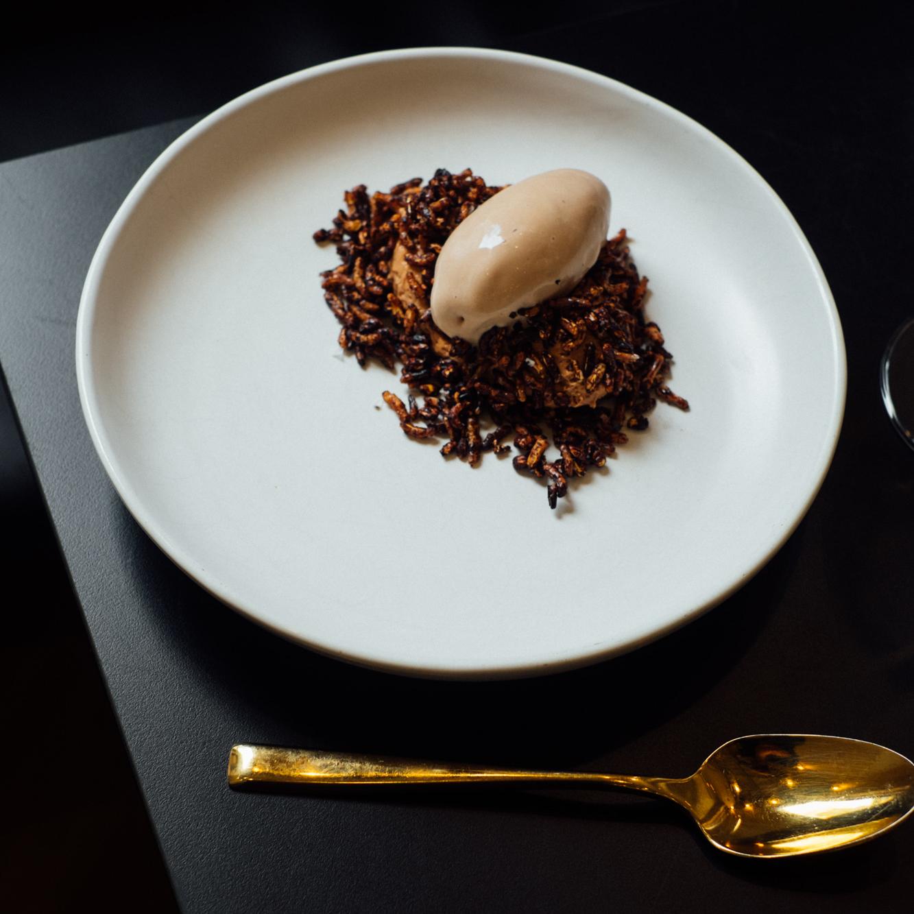 Chocolate Parfait, Tea Tree Mushroom, Mushroom Cocoa Pops