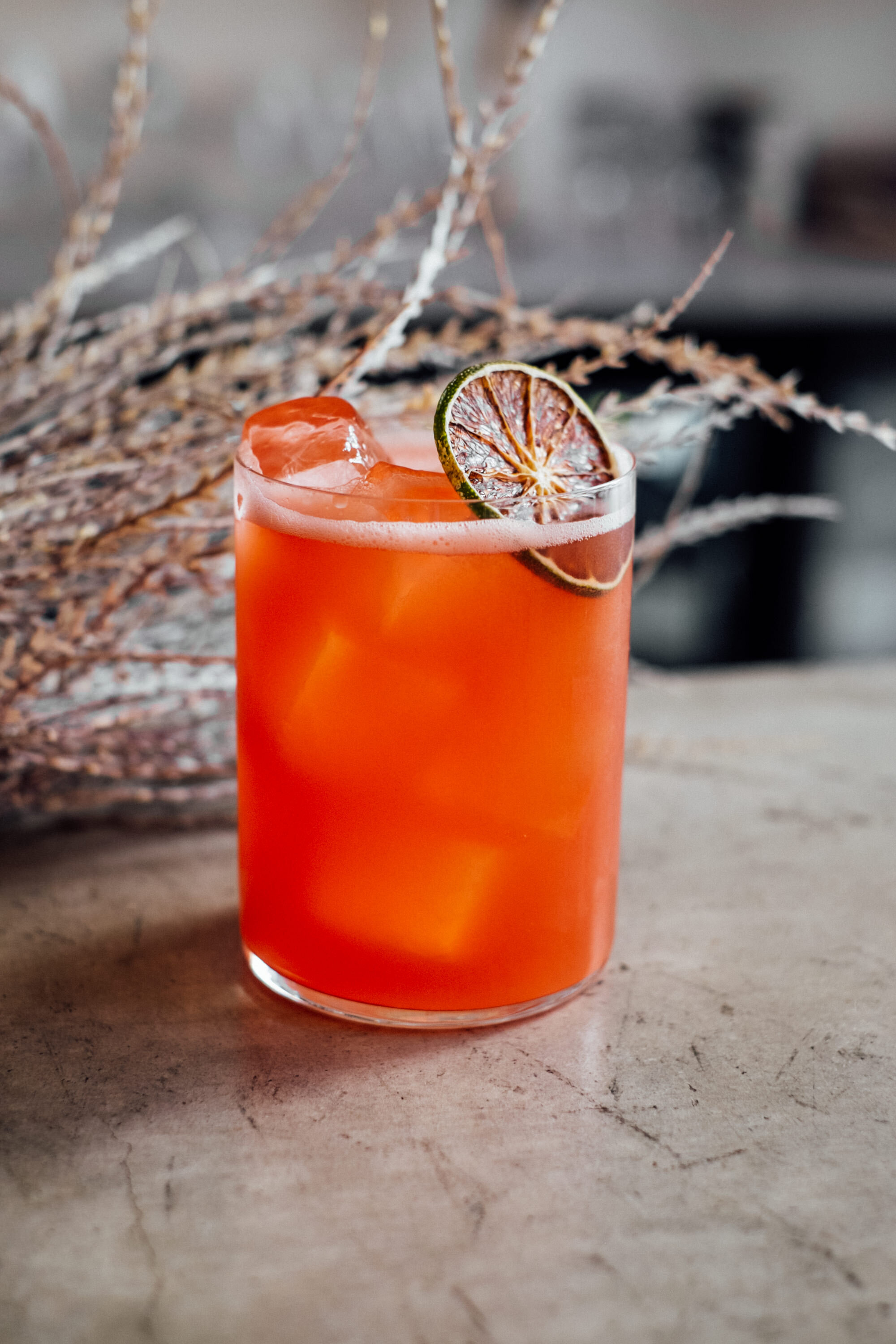 Hot Fong - Hot Numbing Tequila, Watermelon, Agave, Citrus (Long)