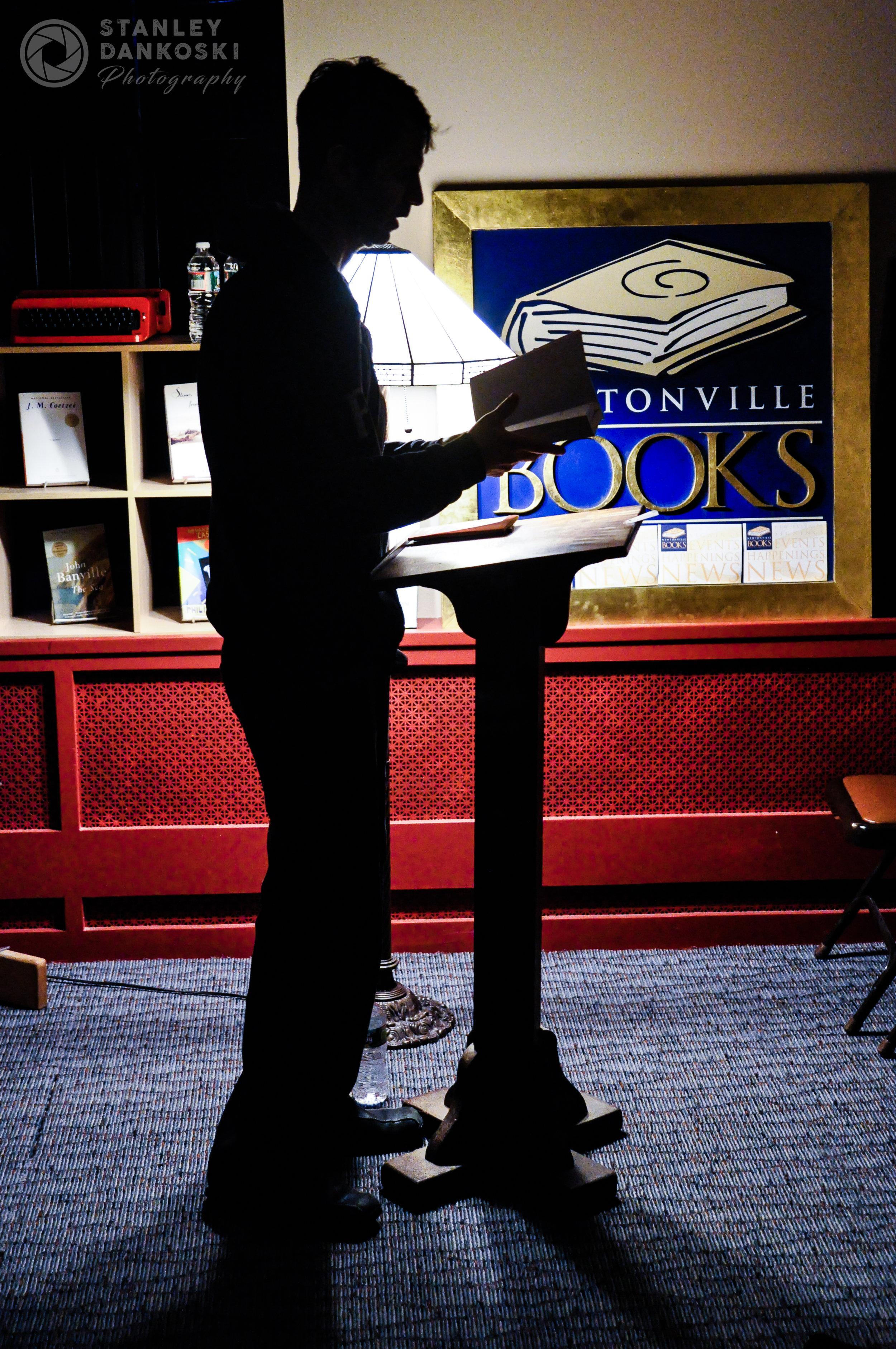 Steve Almond at Newtonville Books, 2011